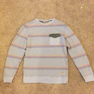 Vans California Sweatshirt - Small, Striped